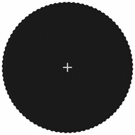 Jumping Mat Fabric Black for 15 Feet/4,57 m Round Trampoline