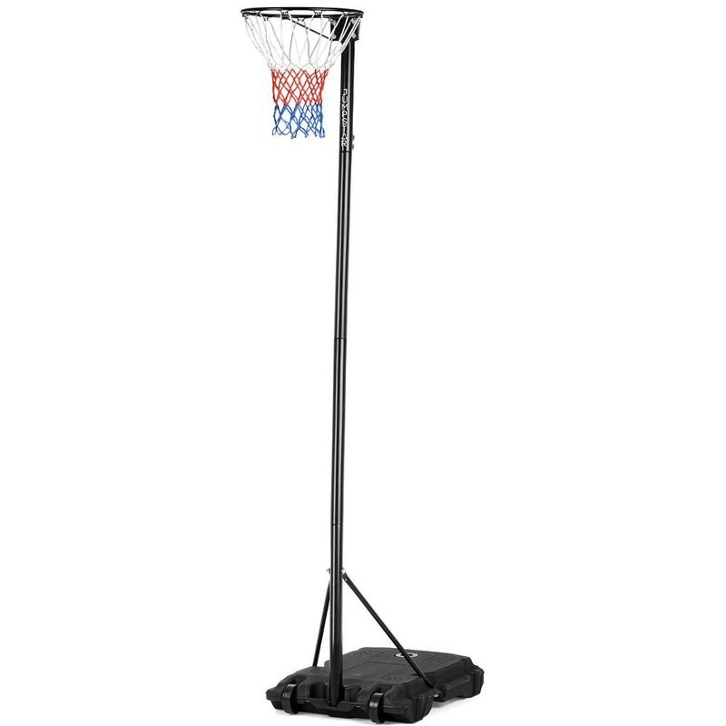 Image of Portable Height-Adjustable Netball Stand & Hoop 10ft - Jumpstar Sports