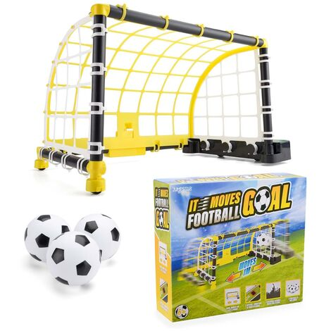 JumpStar Sports Electronic Moving Football Goal Toy