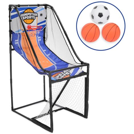 JumpStar Sports Football Goal & Basketball Hoop