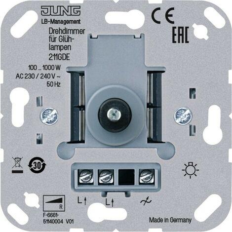 Jung Drehdimmer 211 GDE