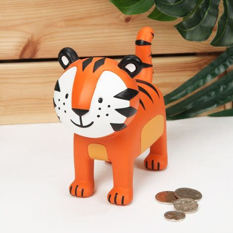 Jungle Baby Lincoln the Tiger Money Box