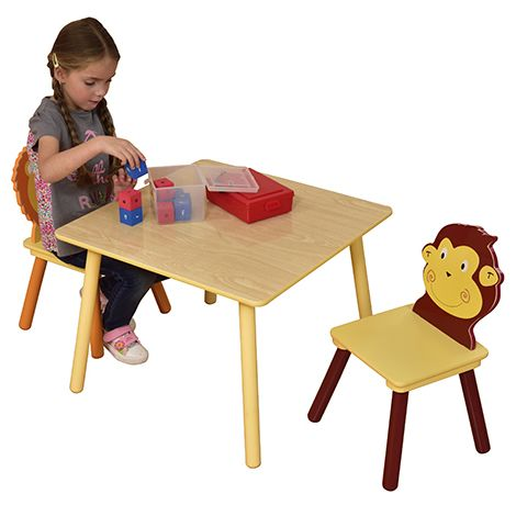 Jungle Table & 2 Chair Set