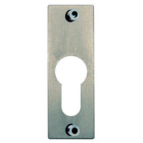 JuNie SchlüsselSchild Nr.7424 z.Aufschrauben Profilzyl. (Inh. 1 Stück)