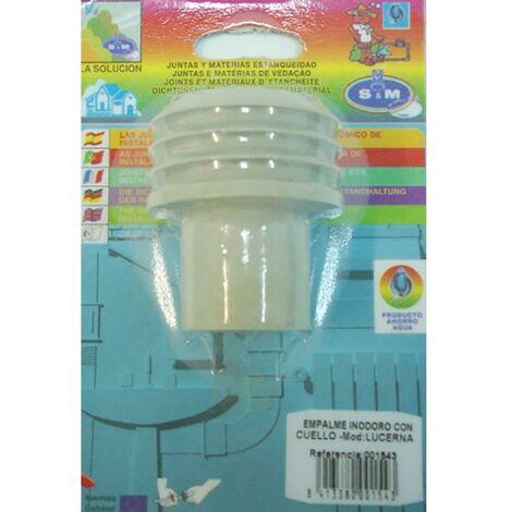Junta Inodoro Cisterna Con Cuello Goma S&M 001543
