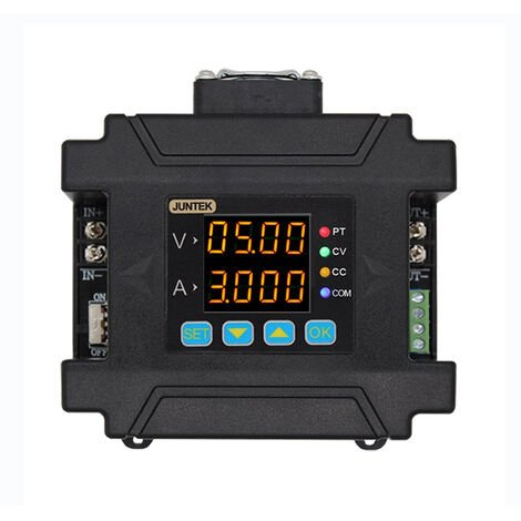 """main image of """"JUNTEK DPM8608-RF 2.4 Inch LCD Screen Programmable Wireless Power Supply 60V 8A Remote Control Voltmeter DC-DC Power Supply Voltage Regulator Constant Current Converter Module,model:Multicolor"""""""