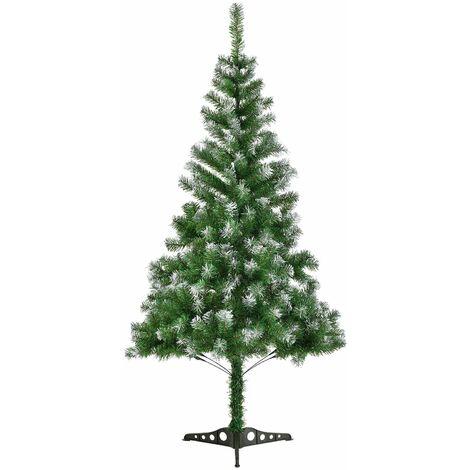 Tannenbaum 120 Cm.Juskys Künstlicher Weihnachtsbaum Tannenbaum 120 Cm Grün Mit Schnee