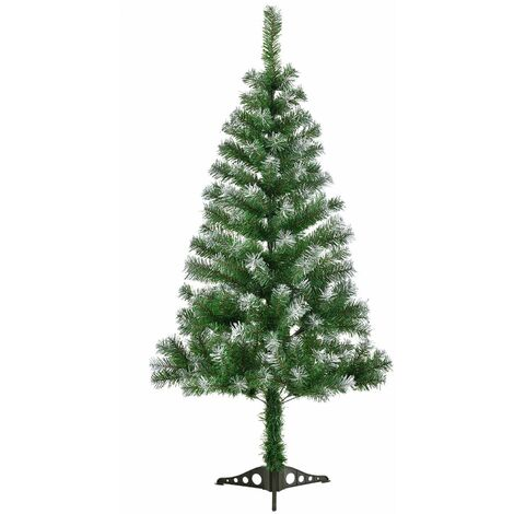 Künstlicher Weihnachtsbaum Günstig.Juskys Künstlicher Weihnachtsbaum Tannenbaum 150 Cm Grün Mit Schnee