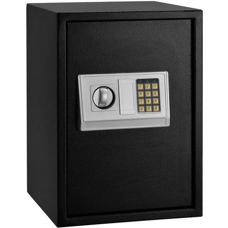 Juskys Safe Tresor Secure-L mit elektronischem Zahlenschloss - anthrazit