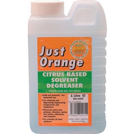 Just Orange Citrus Solvent Degreasers