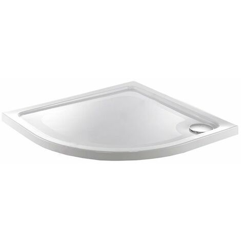 Just Trays Fusion Quadrant Flat Top Shower Tray