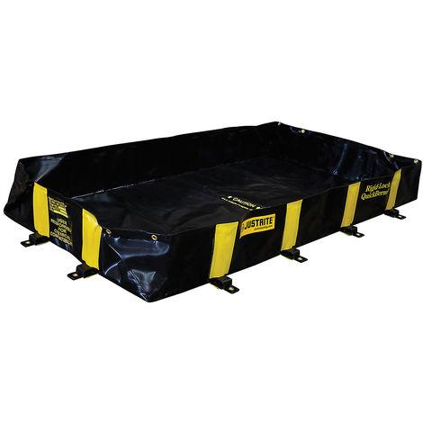 JUSTRITE Cuve pliante QuickBerm®, avec Rigid Lock capacité 890 l