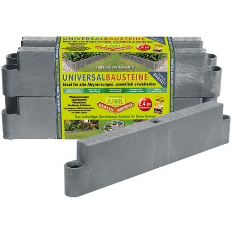 JUWEL Eléments de jardin universels – basalte - 20500