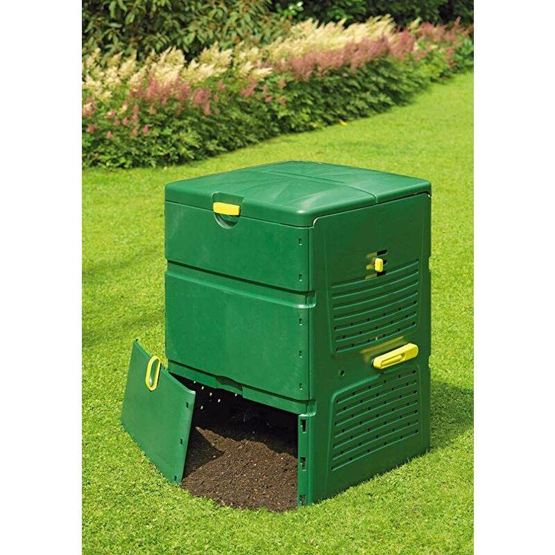 Juwel Gartenkomposter Thermokomposter Schnellkomposter AEROPLUS 6000 Komposter