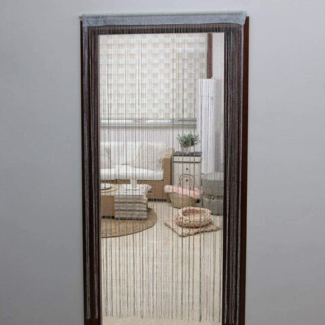 JVL Glitter String Door Curtain, 200cm x 90cm approx