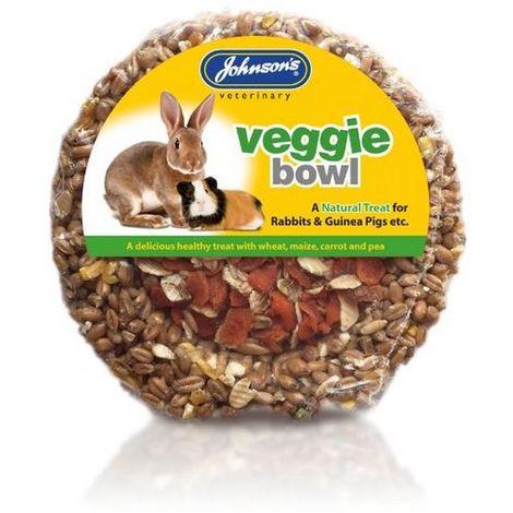 JVP Rabbit & Guinea Pig Veggie Bowl 180g x 8 (260273)