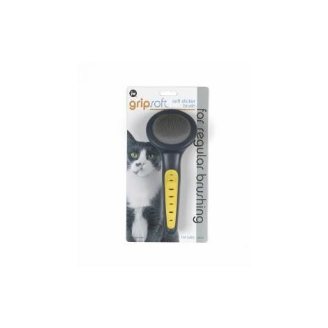 JW Gripsoft Grooming Cat Slicker Brush x 1 (36725)