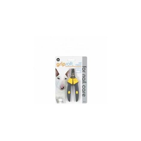 JW Gripsoft Grooming Med Deluxe Nail Clipper x 1 (36718)