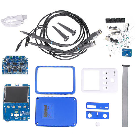 JYETech 15801K DIY WAVE2 dual-channel digital storage oscilloscope kit with touch screen Hasaki