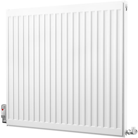 K-Rad Kompact Type 11 Single Panel Single Convector Radiator 750mm x 800mm White