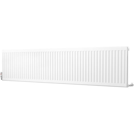 K-Rad Kompact Type 21 Double Panel Single Convector Radiator 500mm x 2000mm White