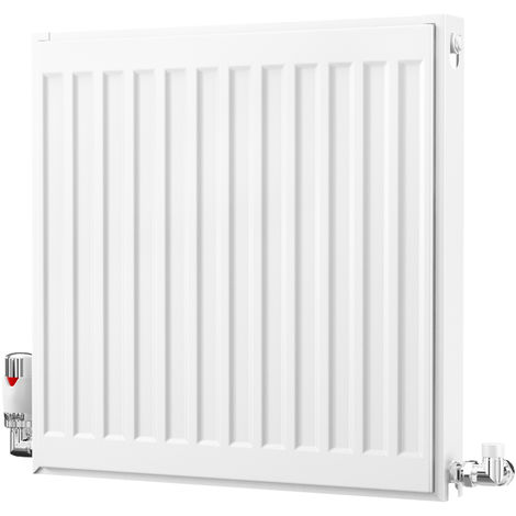 K-Rad Kompact Type 21 Double Panel Single Convector Radiator 500mm x 500mm White