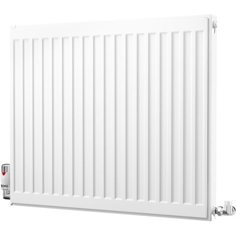 K-Rad Kompact Type 21 Double Panel Single Convector Radiator 600mm x 700mm White