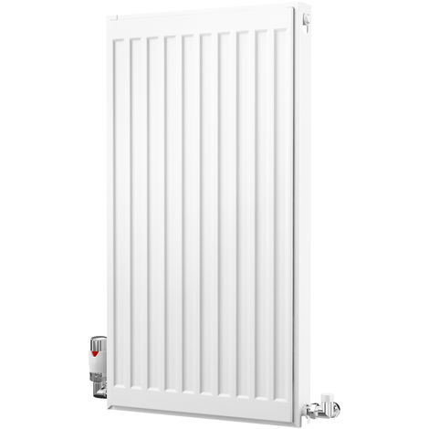 K-Rad Kompact Type 21 Double Panel Single Convector Radiator 750mm x 400mm White