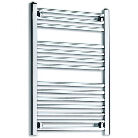 Kartell Chrome 800mm x 300mm Straight 25mm Towel Rail - 25STR308C