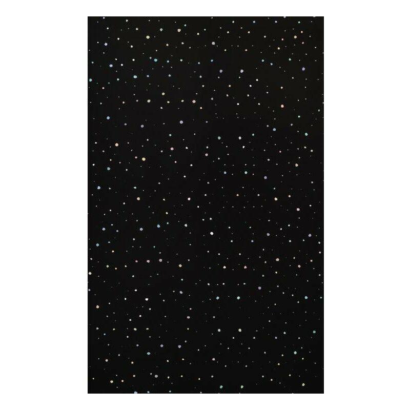 Image of PVC Wall Panel 2.4m x 1m Black Rainbow Drop - K-vit