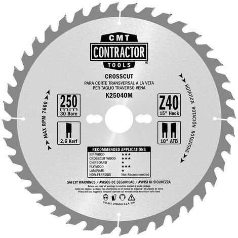 k1-2.set LAMES CIRCULAIRES CONTRACTOR - COMBO-PACK