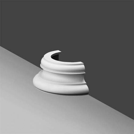 K1151 Small Round Half Plinth