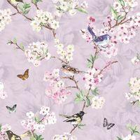 K2 Maylea Lilac Wallpaper