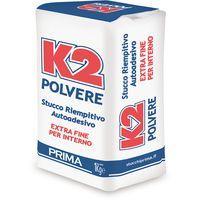 K2 stucco in polvere bianco per interno