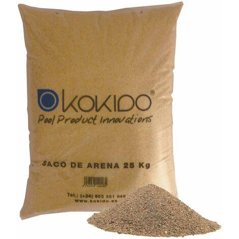 K2O Sable De Verre Pour Filtre À Sable 25 Kg - Sable-V
