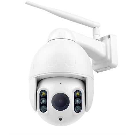 K64A 16X Wifi 1080P Camera Ip Ptz Face Suivi Automatique Ip66 Etanche Exterieur De Detection De Mouvement De Vision Nocturne Ir Camera De Securite 50M