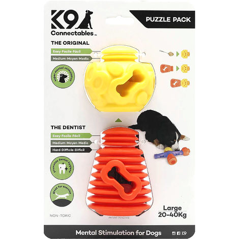 K9 Connectables Plastic Puzzle Pack Dog Toy