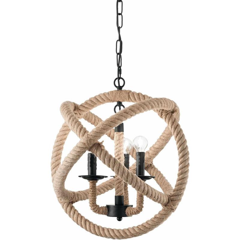 Kabel Pendelleuchte CORDA 3 Lampen