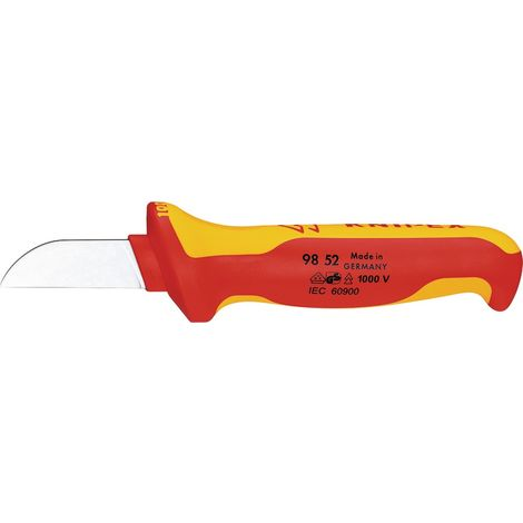 Kabelmesser VDE L.180mm m.Ergo-Griff m.Abgleitschutz KNIPEX