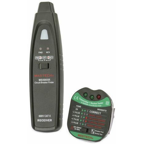 Kabelprüfer und Sicherungsfinder MASTECH MS5905RTD