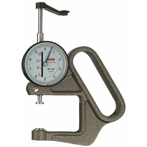 Käfer Dickenmessgerät K 50/3 D 0-30mm Abl. 0,1mm halbrd. 10=dmm
