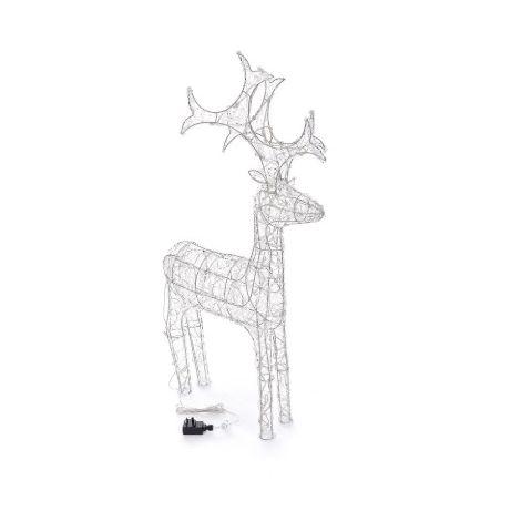 Kaemingk Everlands - Mains Operated Indoor & Outdoor Acrylic Reindeer Christmas Figure