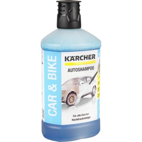 Kärcher Autoshampoo 3in1 6.295-750.0, Reinigungsmittel, 1 Liter