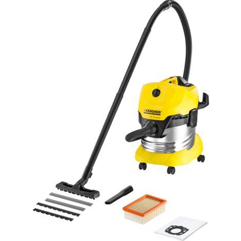 Kärcher Mehrzwecksauger WD 4 Premium 1.348-151.0, Nass-/Trockensauger, gelb/schwarz