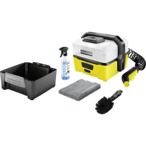 Kärcher Mobile Outdoor Cleaner OC 3 Bike Box 1.680-003.0, Niederdruckreiniger, schwarz/gelb