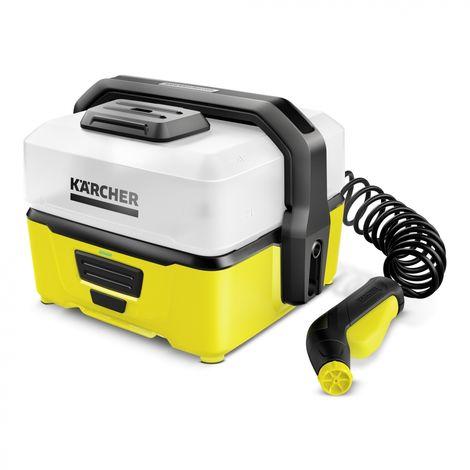 Kärcher Mobile Outdoor Cleaner OC 3 Compact Electrique 120l/h Noir, Blanc, Jaune pressure washer (1.680-000.0)