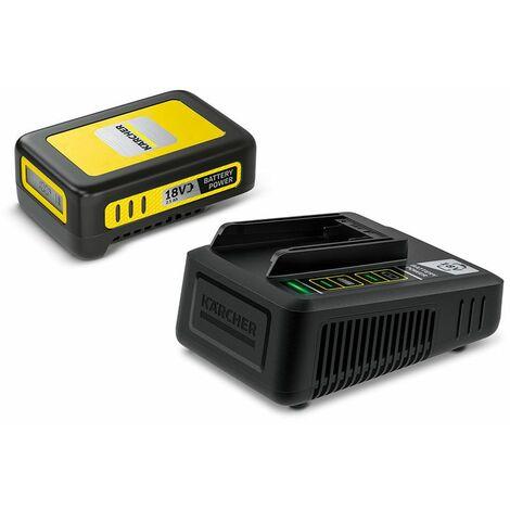 Kärcher Starter Kit Battery Power 18/25 Schnellladegerät + Ersatzakku 2,5 Ah