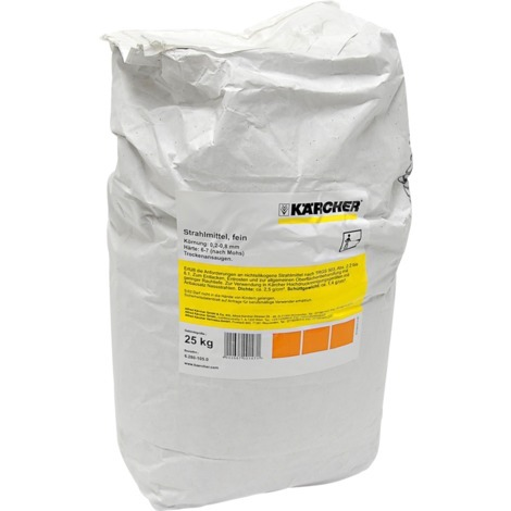 Kärcher Strahlmittel fein 6.280-105.0, Reinigungsmittel, 25 kg