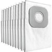 Kärcher Vlies-Filtertüten 6.904-084.0, 10 Stück, Staubsaugerbeutel, weiß