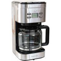Kaffeemaschine im Edelstahl Design mit Timer 900 Watt 1,4 L